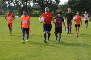 170923_ 4Players Fußballturnier Szene beim TuS Erbstorf